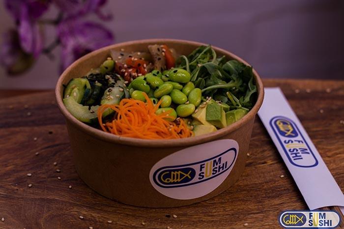 208.Sushi bowl vegetarià